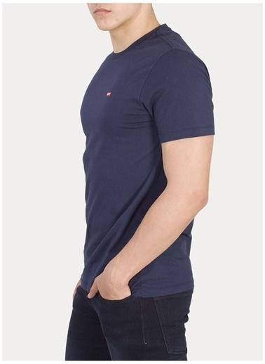 Levi's® Levis Erkek Bisiklet Yaka Pamuklu Lacivert T-Shirt Lacivert